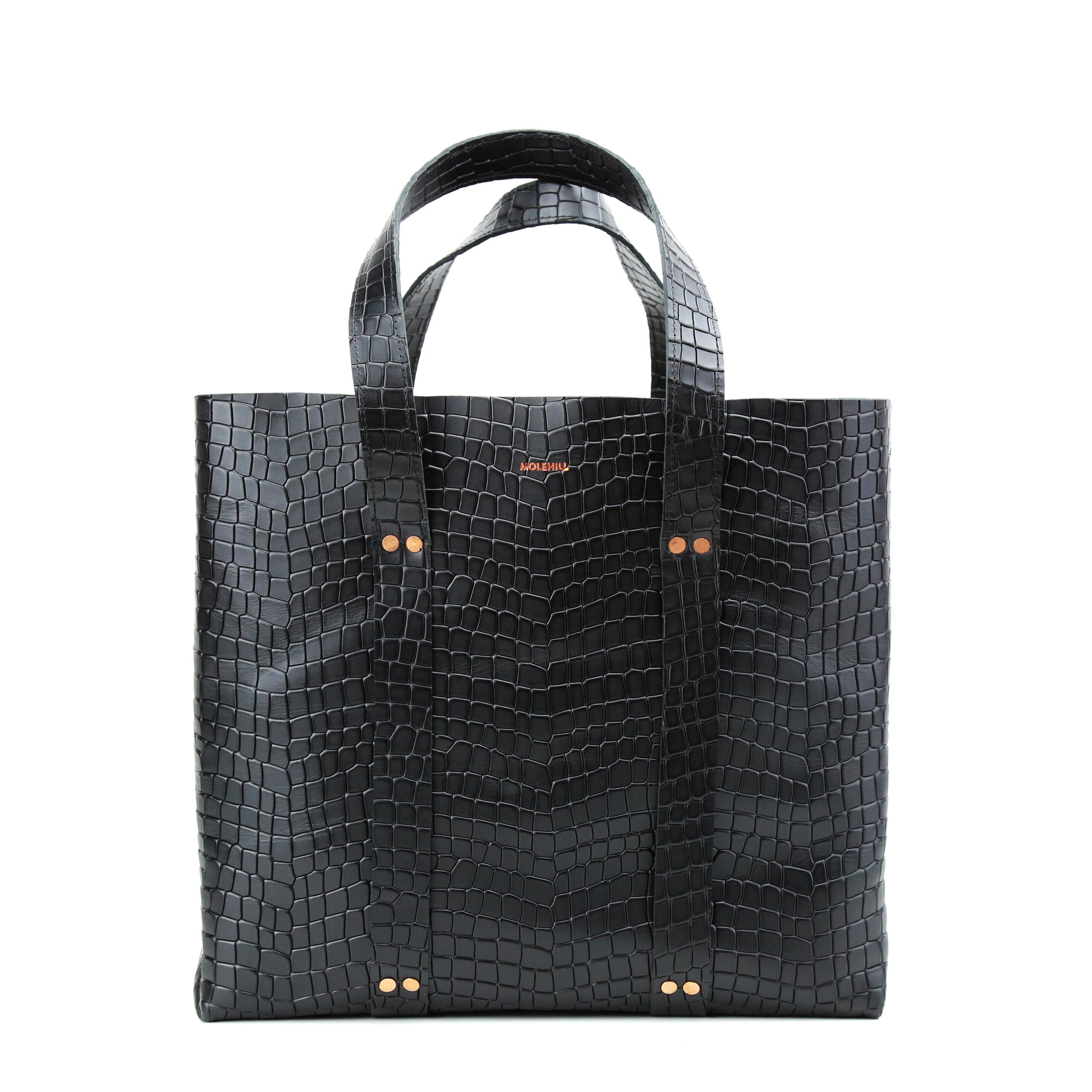 KRAFLA-Shopper-Croco-Black-1