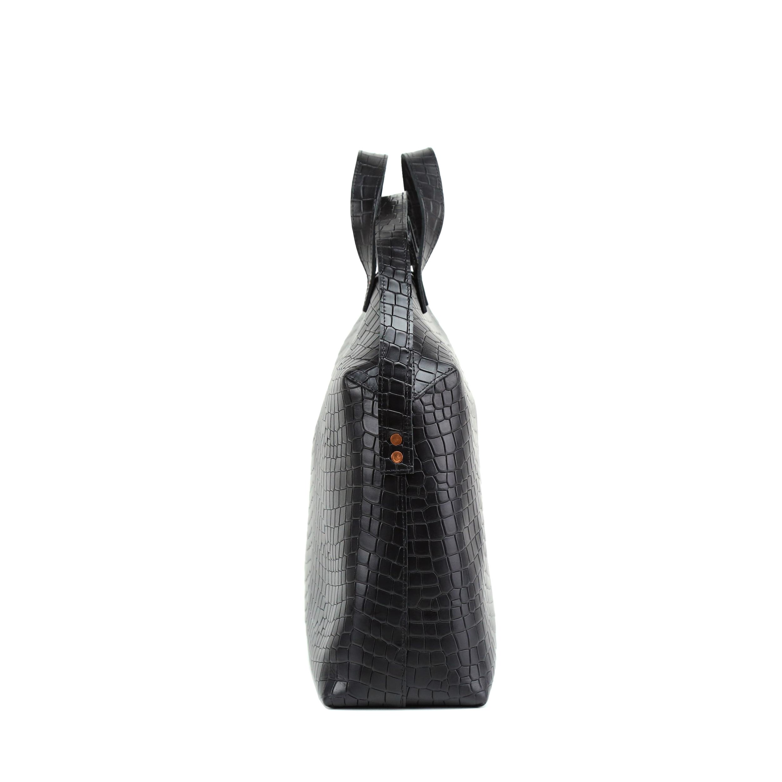 Torba-MADURA-Handbag-Croco-Black-4