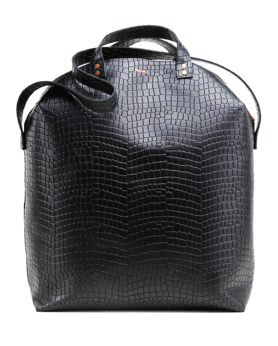VALTARI-Traveler-Bag-Croco-Black-1