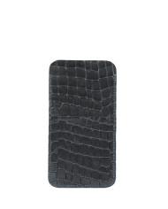 Phone Holder Croco Black-2