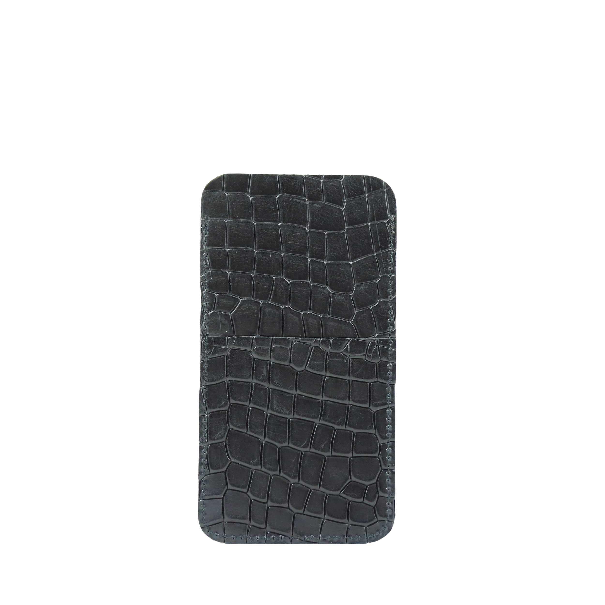 Phone Holder Croco Black-2