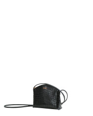 TIMI Mini Crossbody Bag Croco Black_2