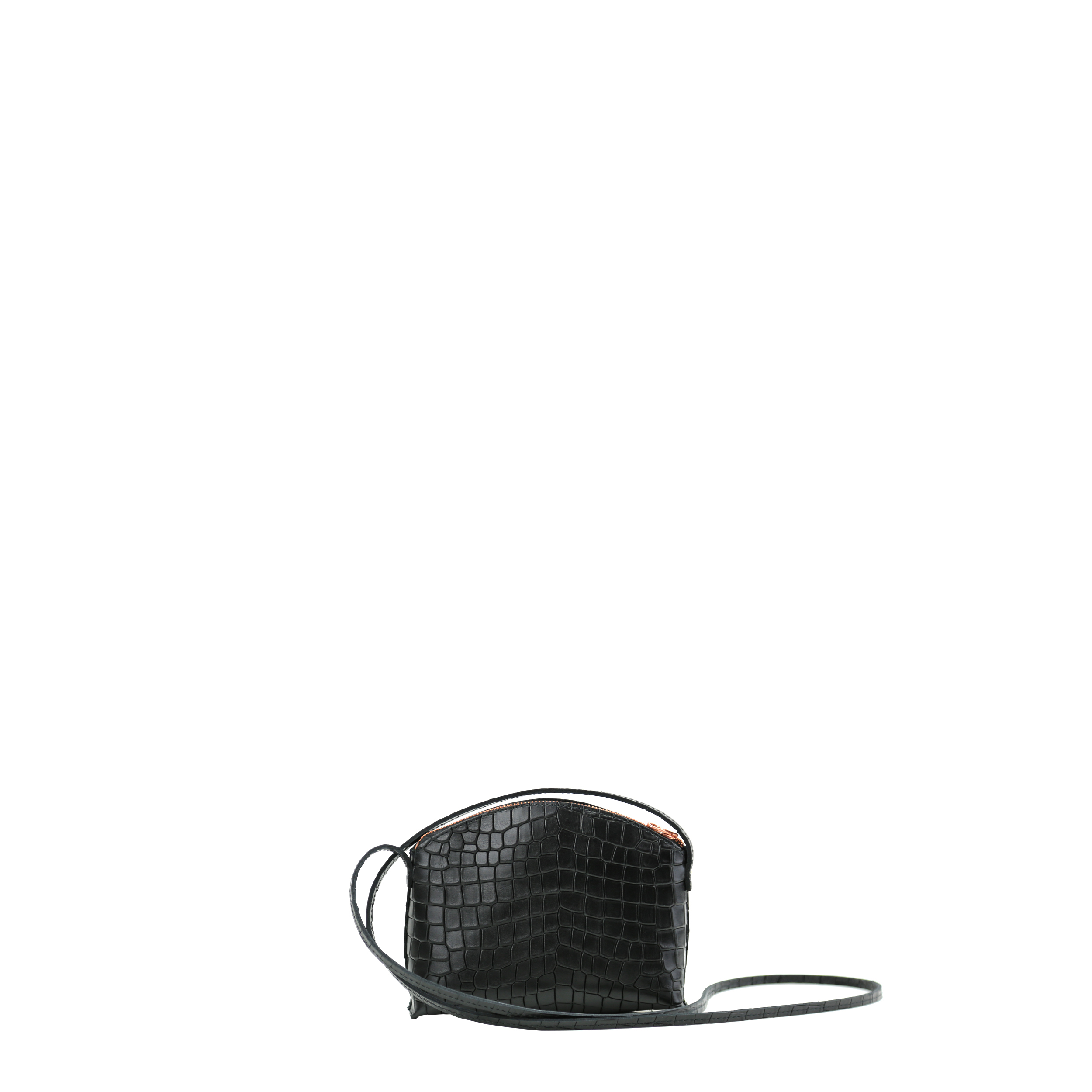 TIMI Mini Crossbody Bag Croco Black_3