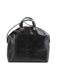 MADURA Handbag Croco Black Sample Sale No. 1-2