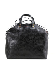 MADURA Handbag Croco Black Sample Sale No. 5-2