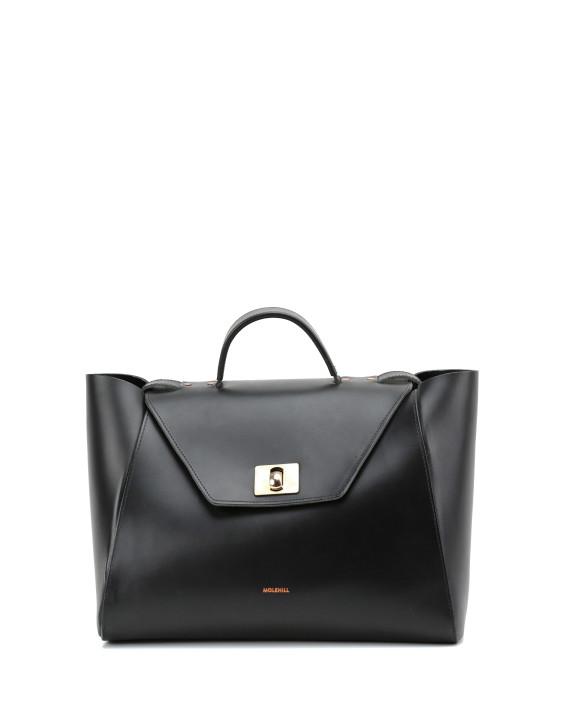 HEIDA-Medium-Top-Handle-Bag-Black-1