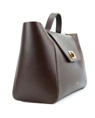 HEIDA – Medium-Top-Handle-Bag-Dark-Brown-4