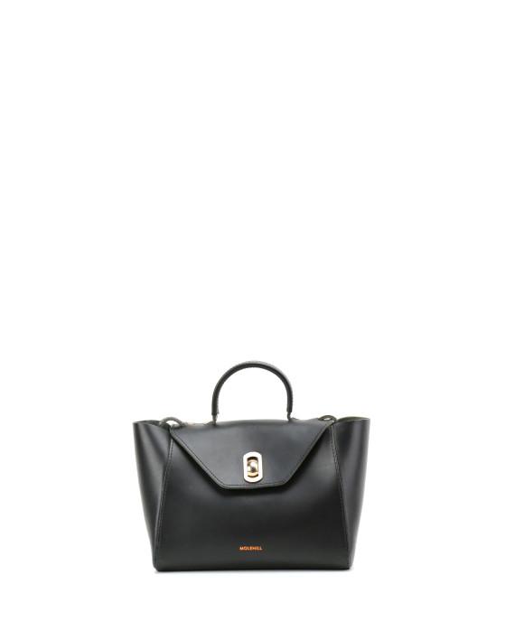HEIDA-Small-Top-Handle-Bag-Black-1