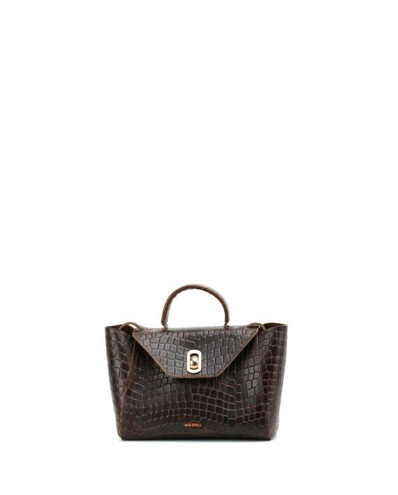 HEIDA-Small-Top-Handle-Bag-Croco-1