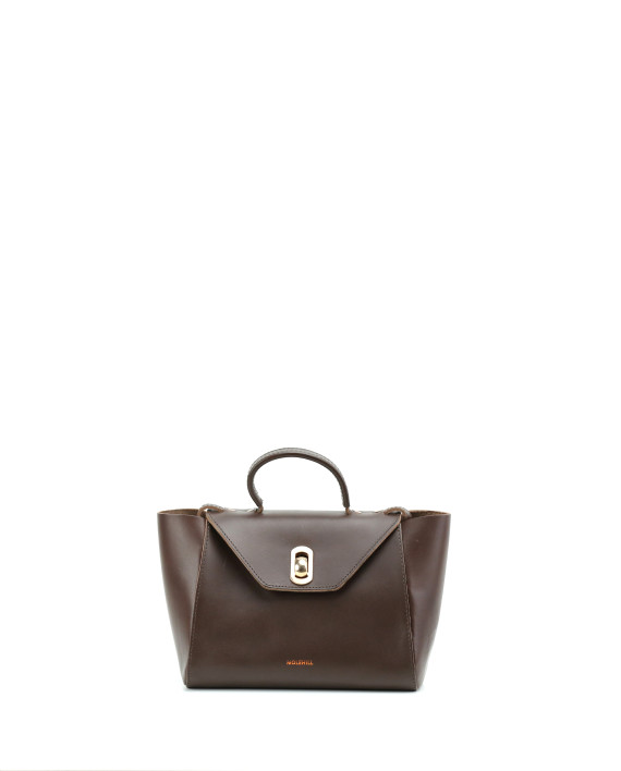 HEIDA-Small-Top-Handle-Bag-Dark-Brown-1