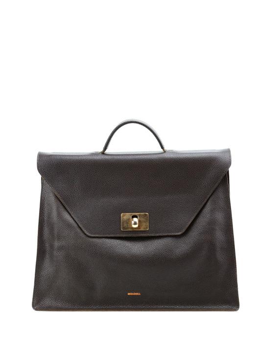 MERU-Briefcase-Grained-Brown-1