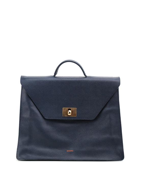 MERU-Briefcase-Grained-Navy-Blue-1
