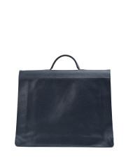 MERU-Briefcase-Grained-Navy-Blue-2