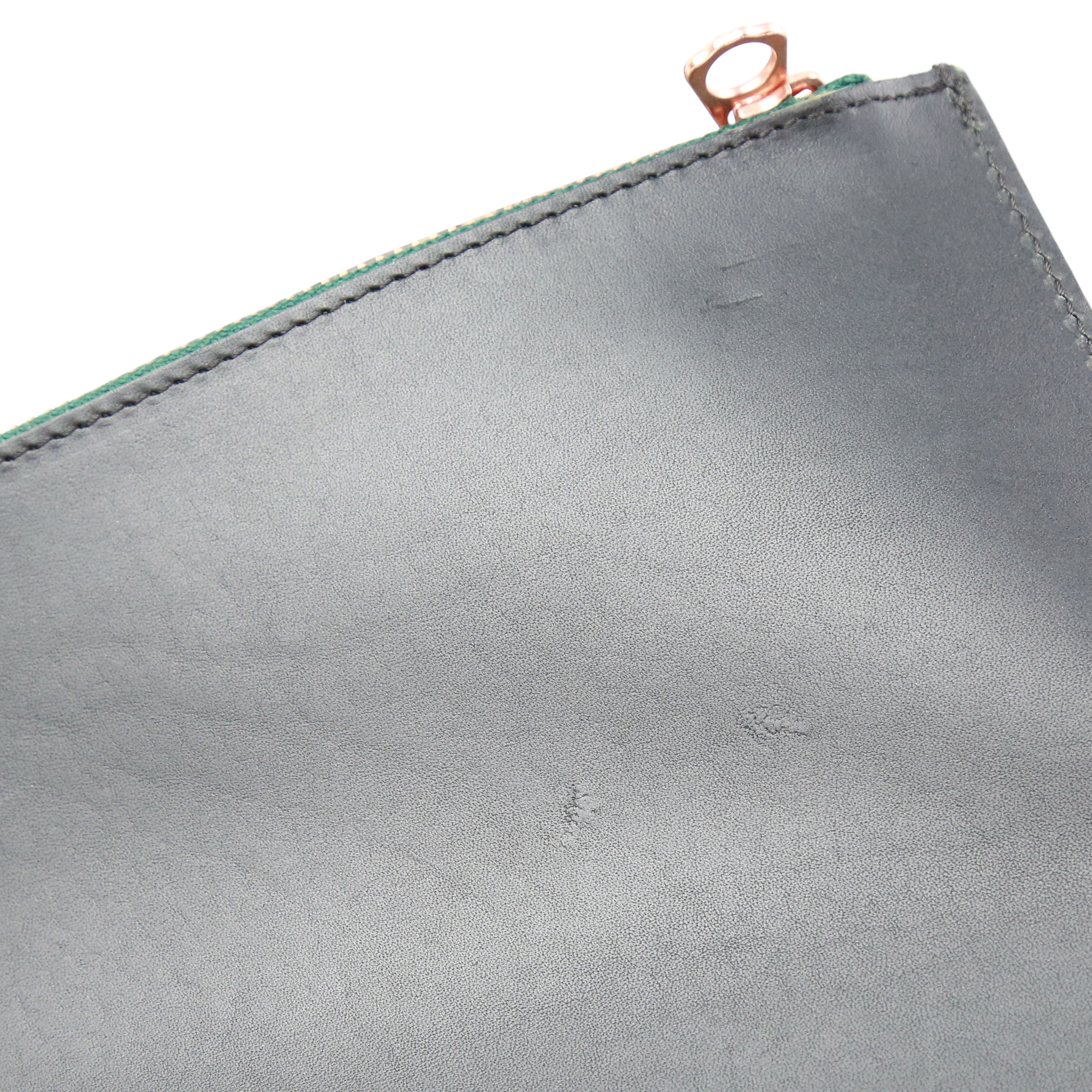 BROMO Black Green Zip-2
