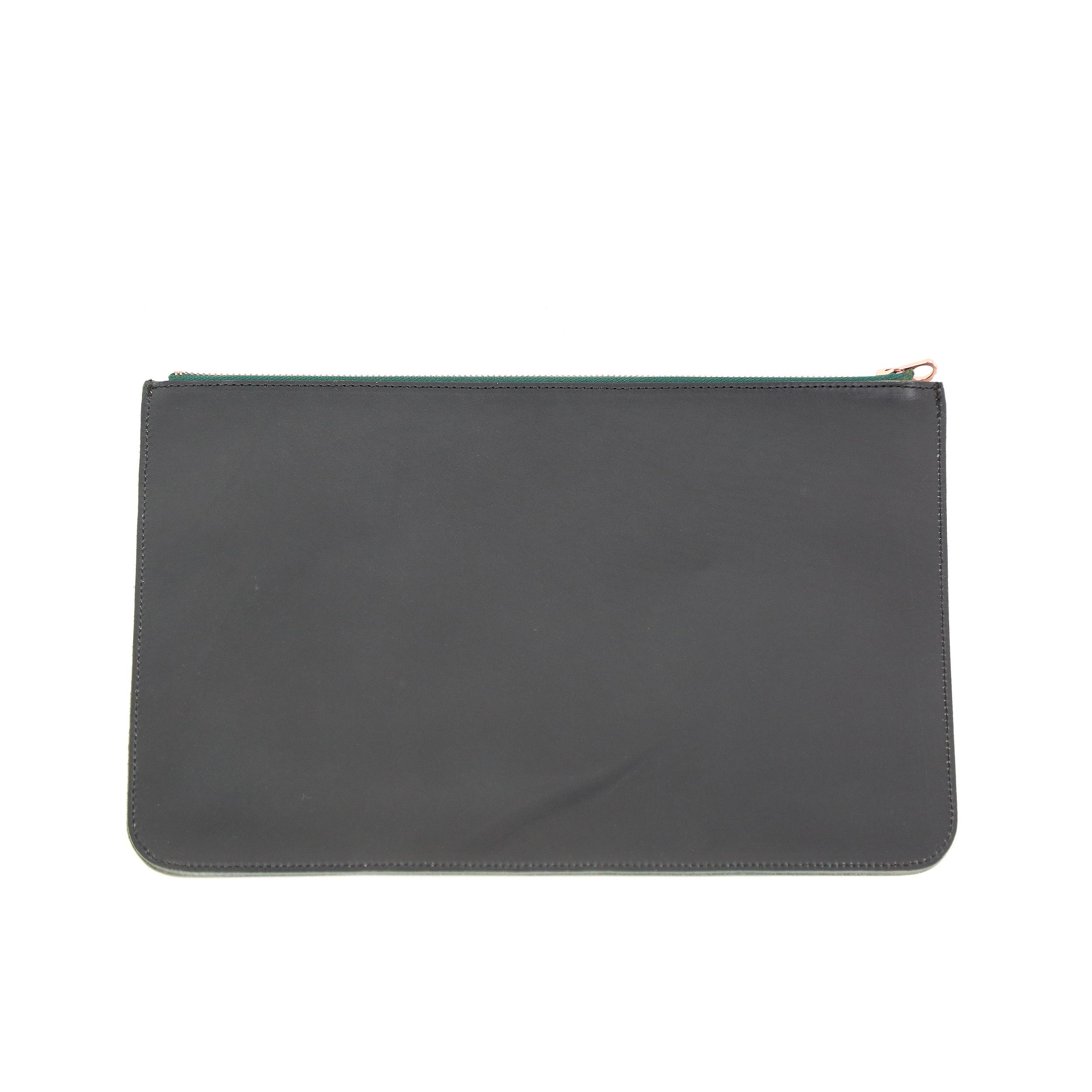 BROMO Black Green Zip-4