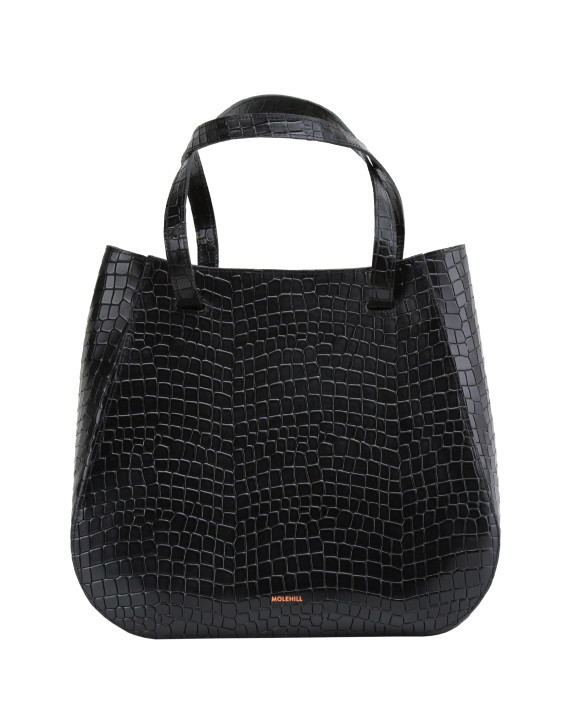 Lesa-Medium-Bag-Croco-Black-1