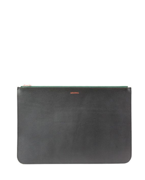 BROMO Black Green Zip-1