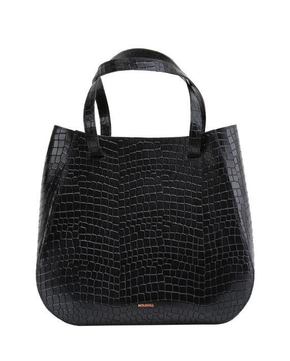 Lesa-Medium-Bag-Croco-Black-1