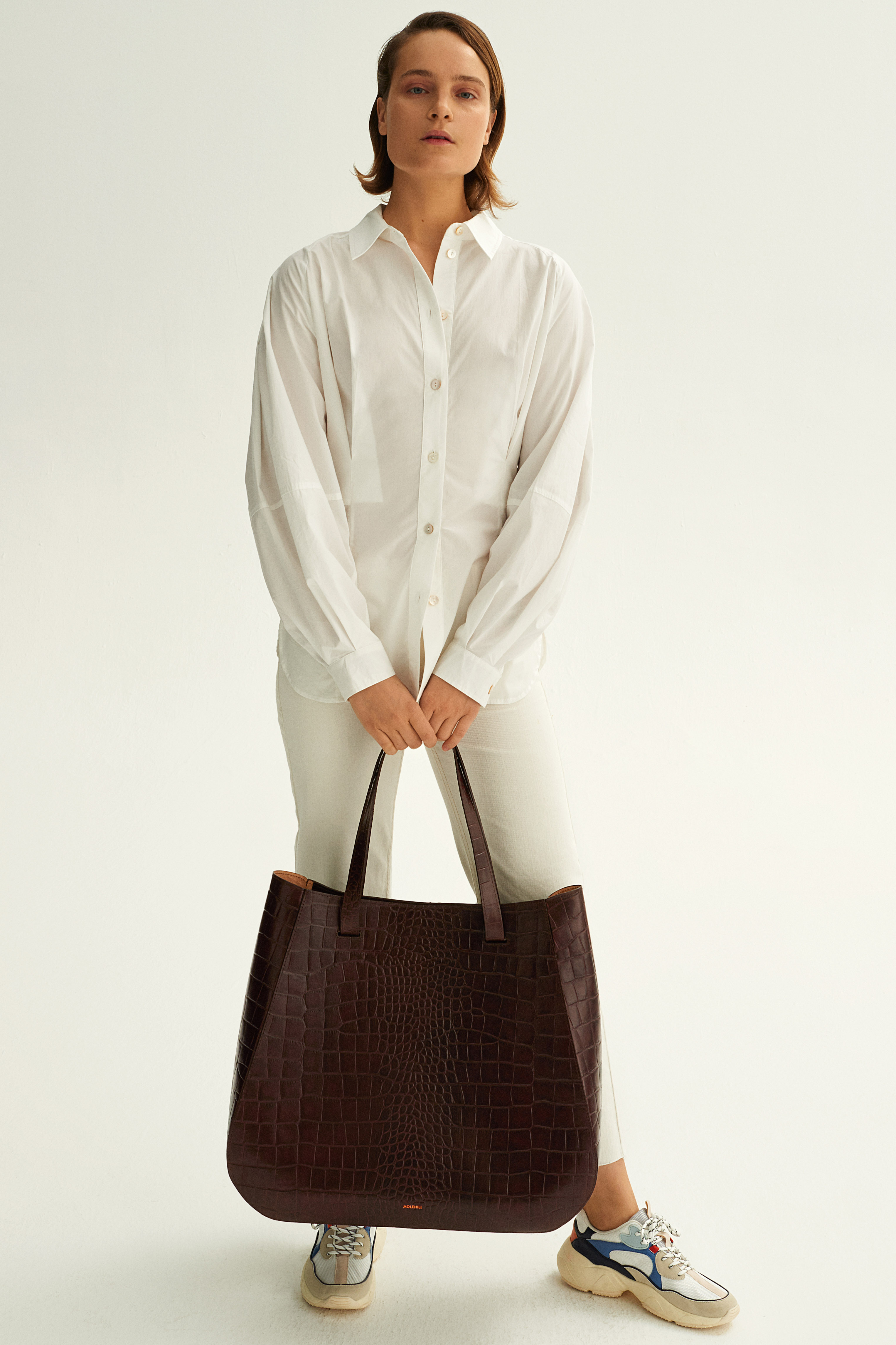 Molehill-Lookbook-Lesa-Large-Handbag-Croco-Brown-Special-Edition
