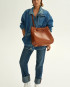Molehill-Lookbook-Lesa-Medium-Handbag-Croco-Honey-Special-Edition