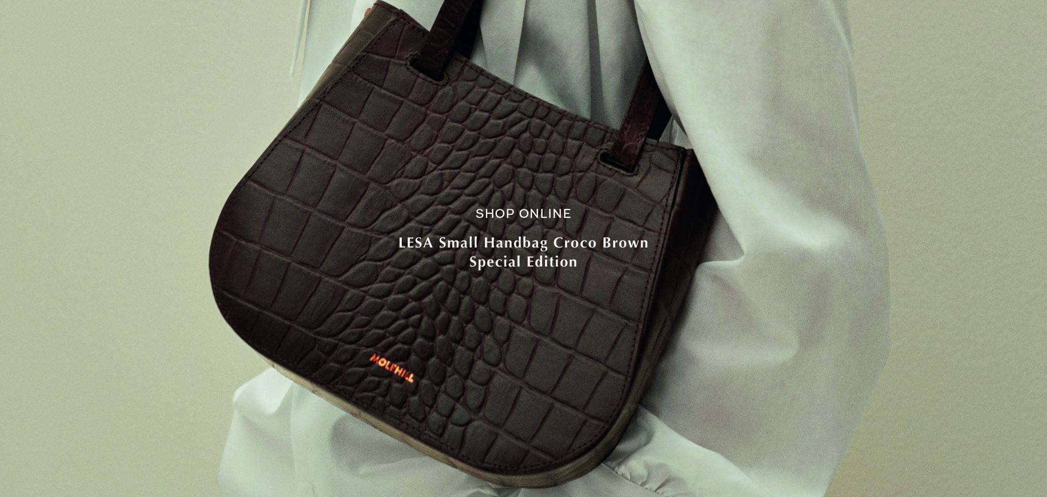 Molehill-Lesa-Small-Handbag-Croco-Brown-Special-Edition