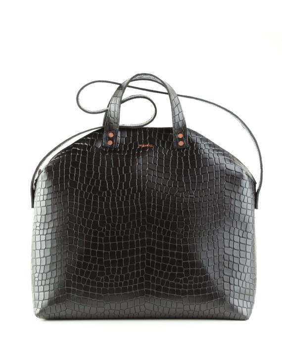 Torba-Madura-Handbag-Croco-Black-Sample-Sale-1