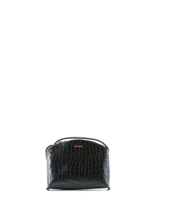 Timi Mini Croco Black-1
