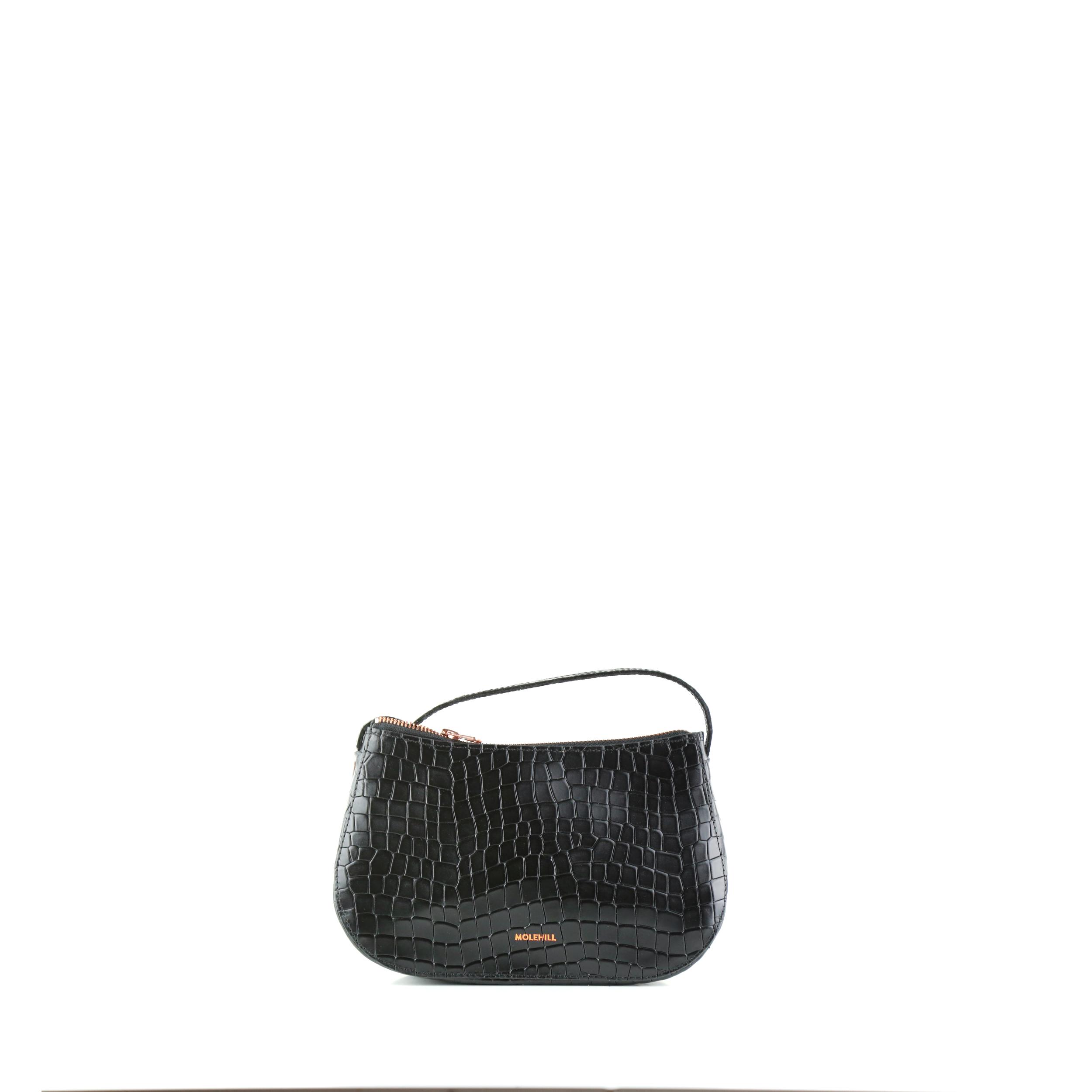 Torba-BOAT Crossbody Bag Croco Black-1