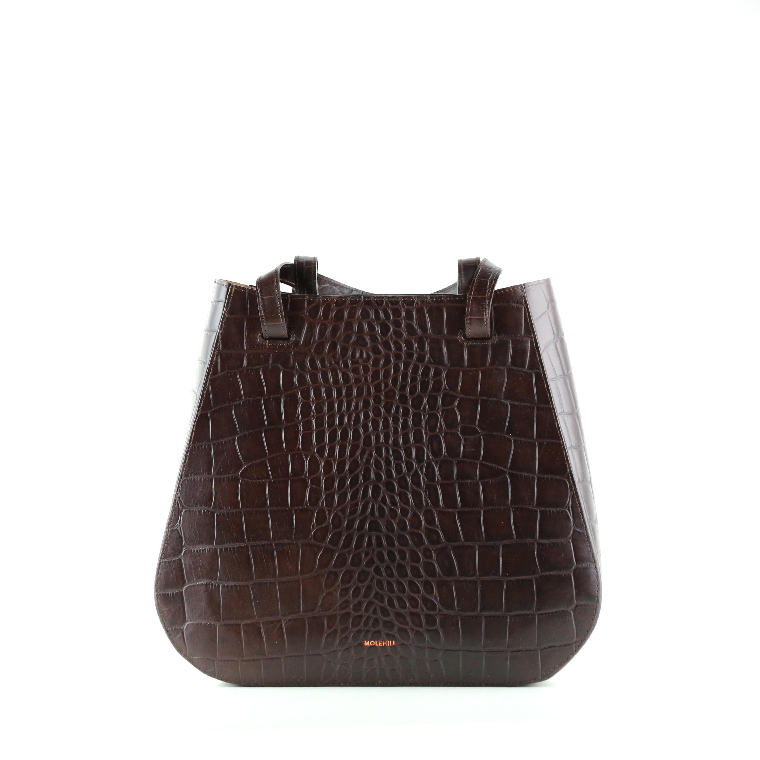 Torba-LESA-Medium-Handbag-Croco-Brown-SpecialEdit-1