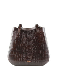 Torba-LESA-Medium-Handbag-Croco-Brown-SpecialEdit-2