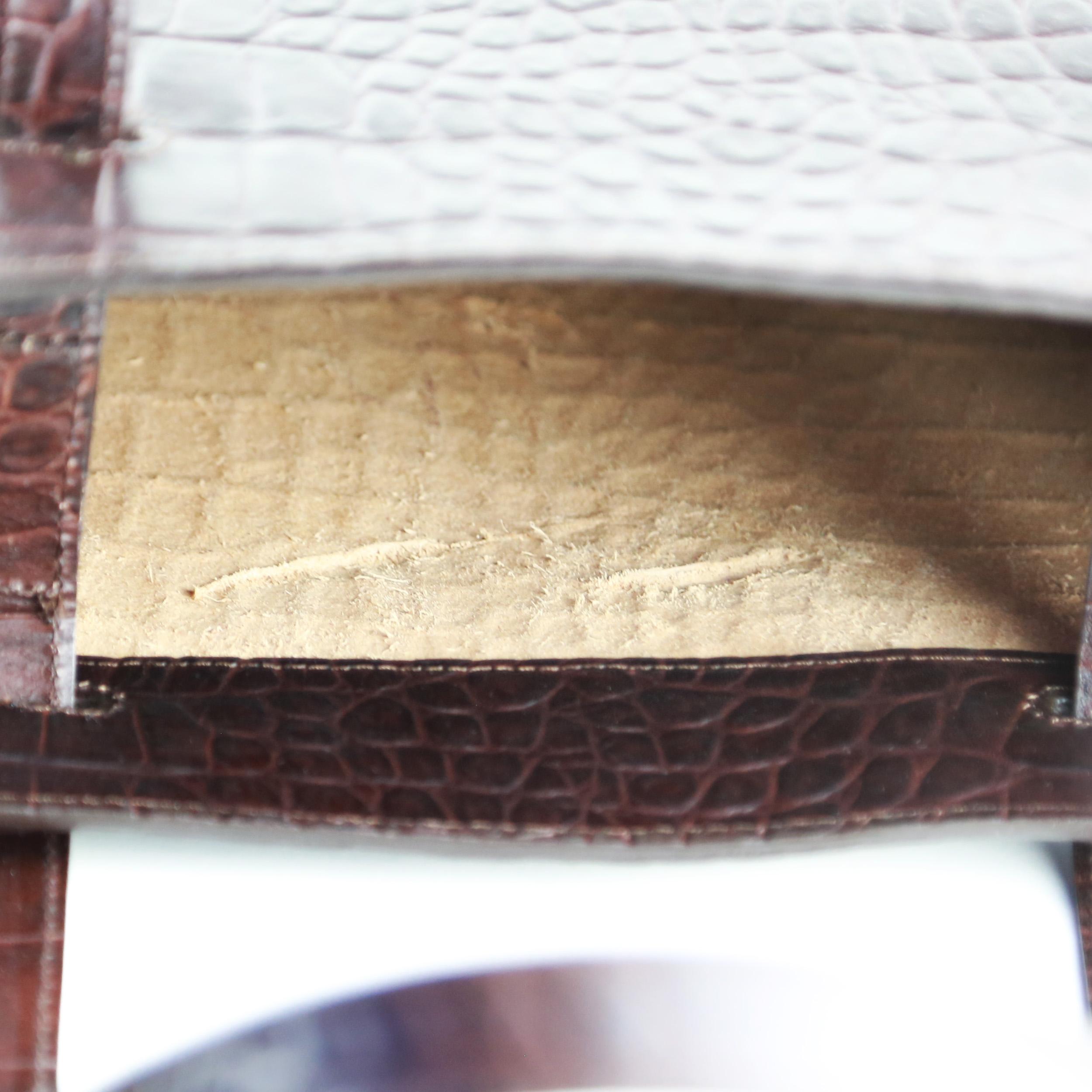 Torba-LESA-Medium-Handbag-Croco-Brown-SpecialEdit-4