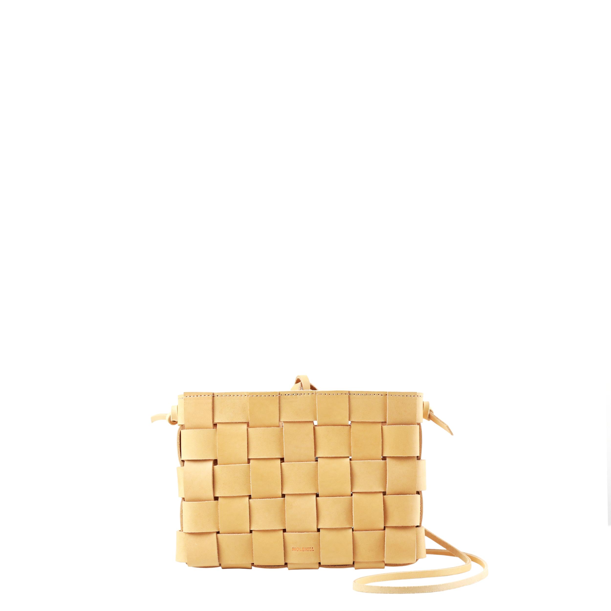 Pane Crossbody Woven Bag Natural-1
