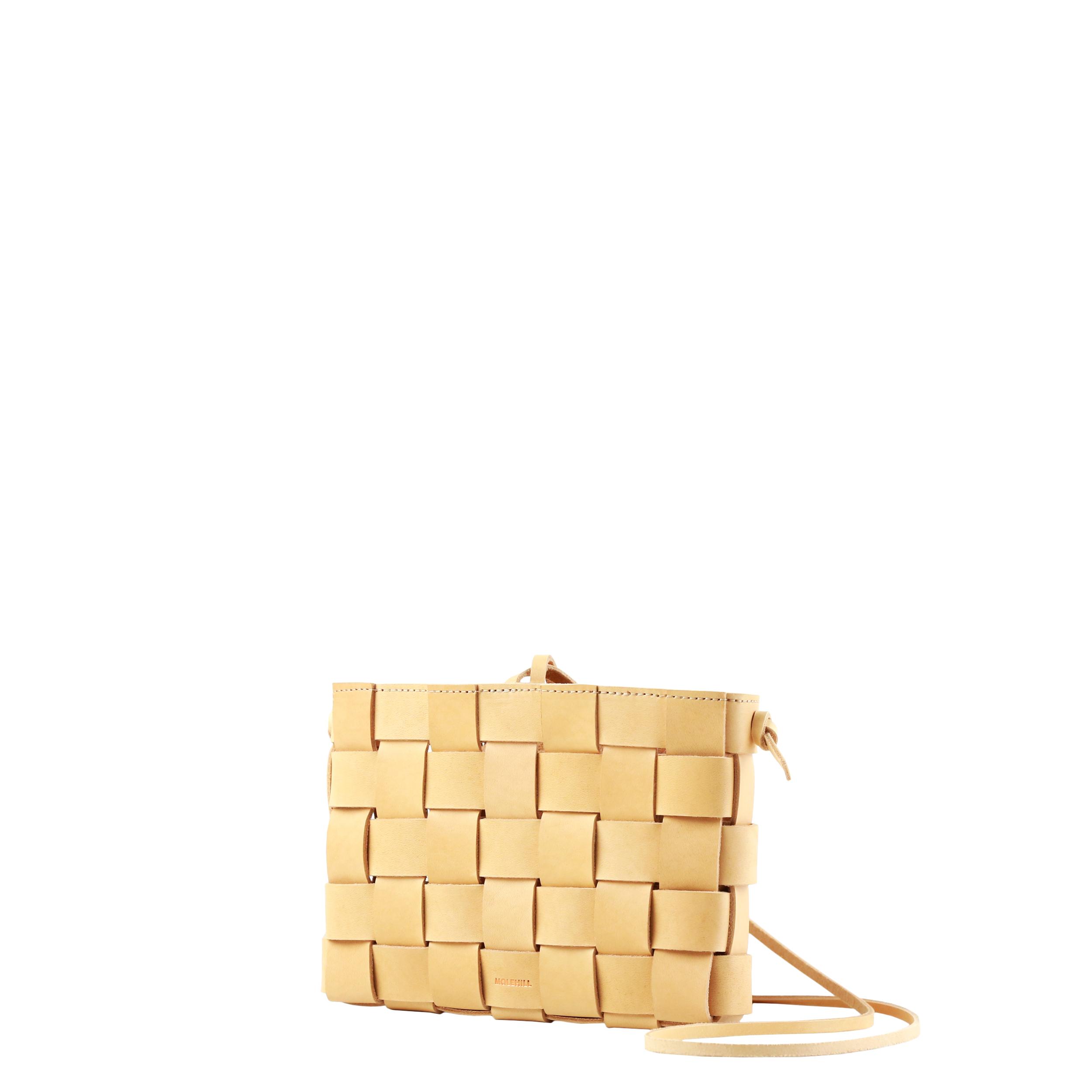 Pane Crossbody Woven Bag Natural-2