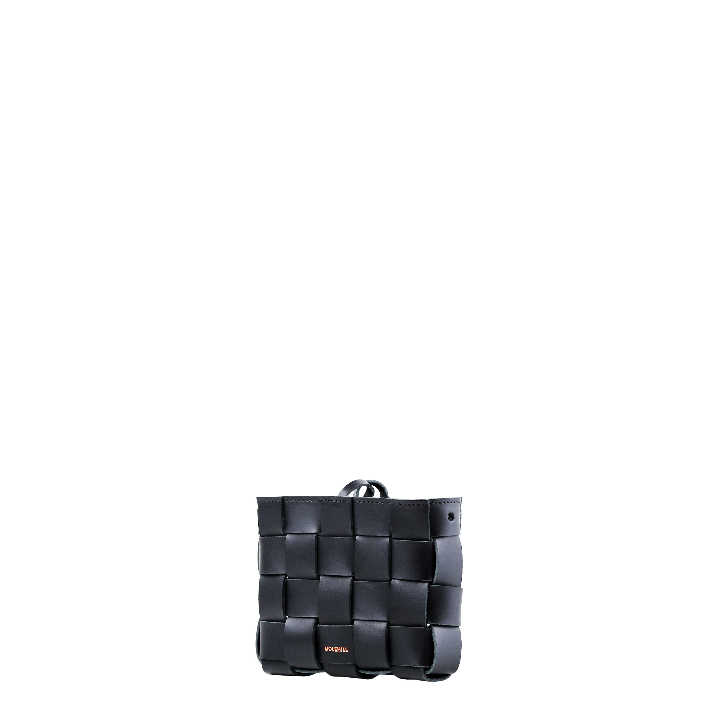 Pane Mini Crossbody Woven Bag Black-3