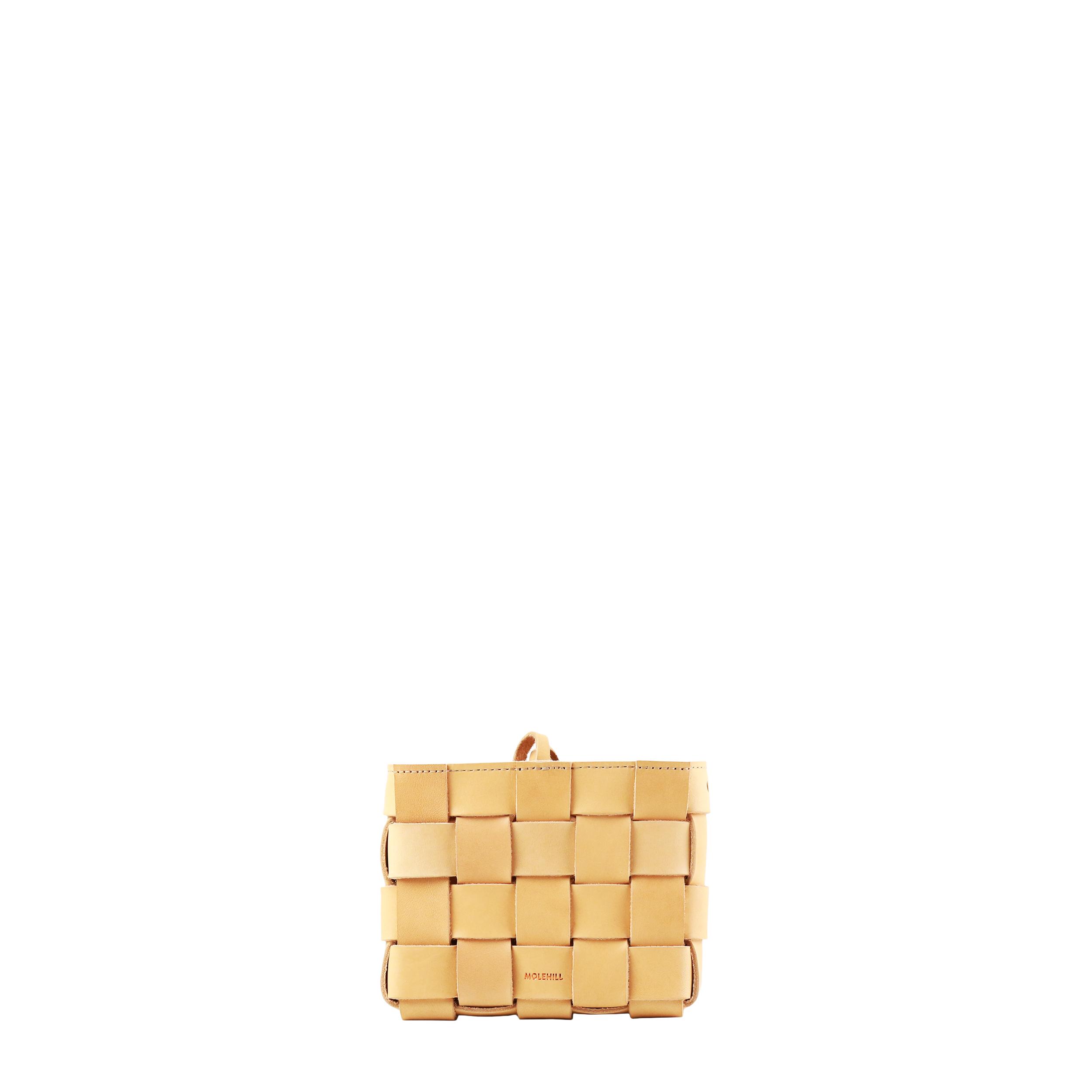 Pane Mini Crossbody Woven Bag Natural-1