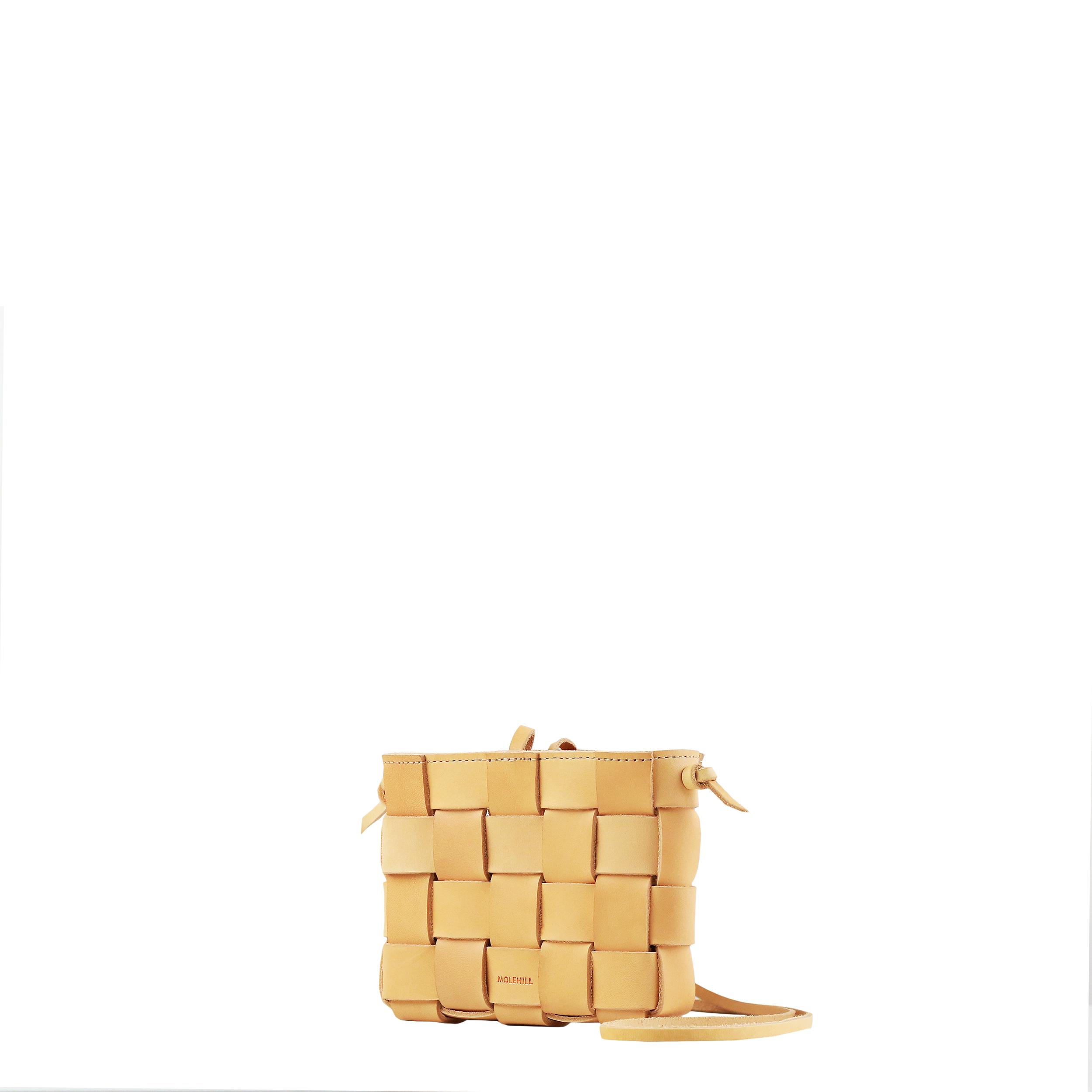 Pane Mini Crossbody Woven Bag Natural-3