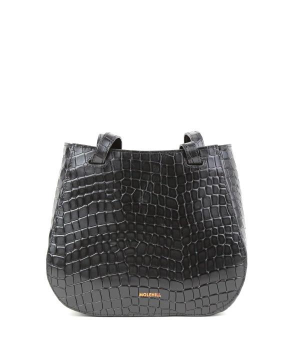 Torba-LESA Small Croco Black