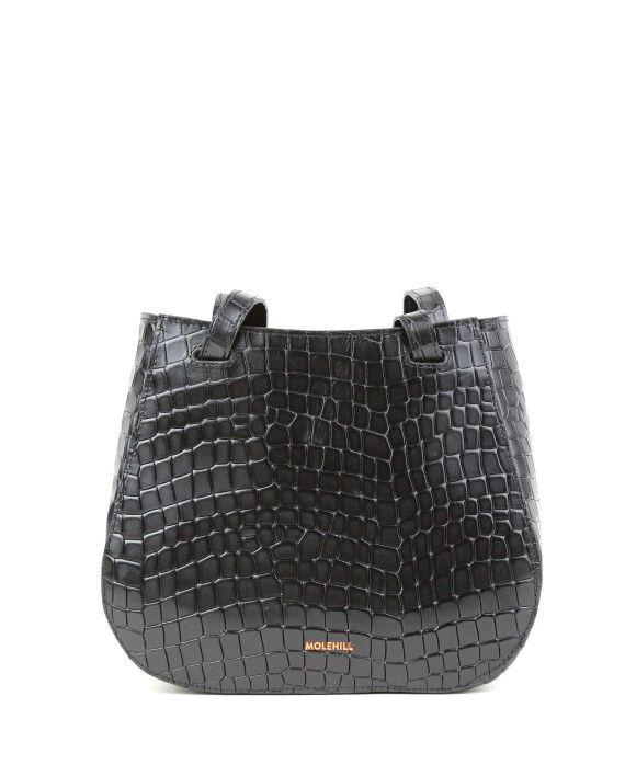 Torba-LESA Small Croco Black