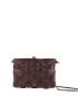 Pane Crossbodgt Woven Bag Dark Chocolate 2-3