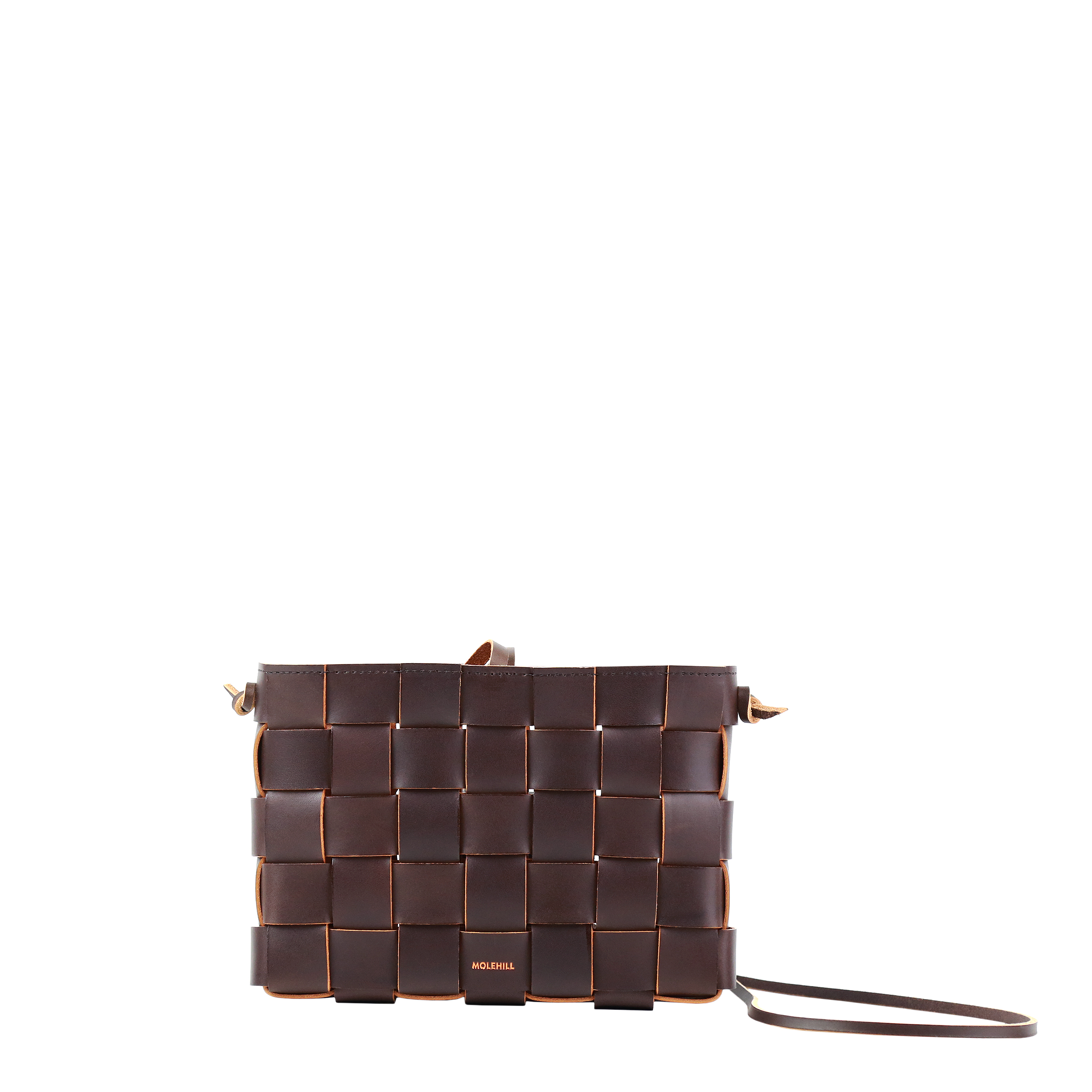 Pane Crossbodgt Woven Bag Dark Chocolate 2-3