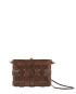 Pane Crossbody Woven Bag Light Chocolate-2