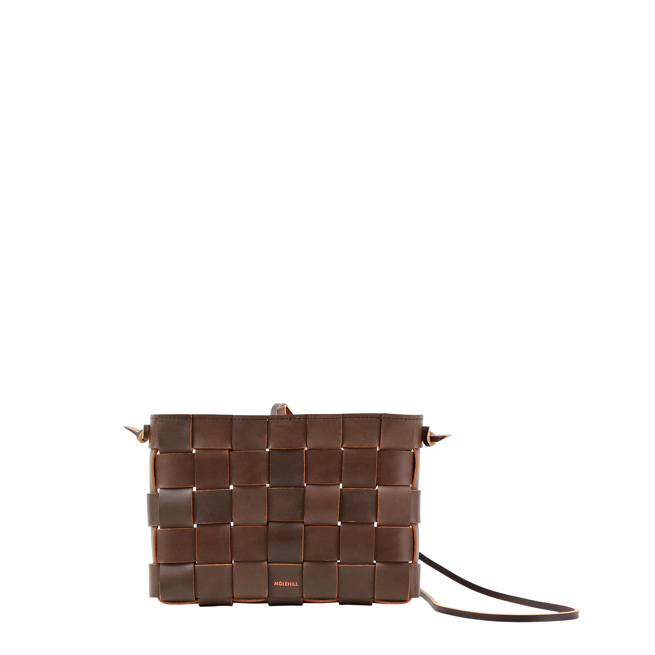 Pane Crossbody Woven Bag Light Chocolate-2