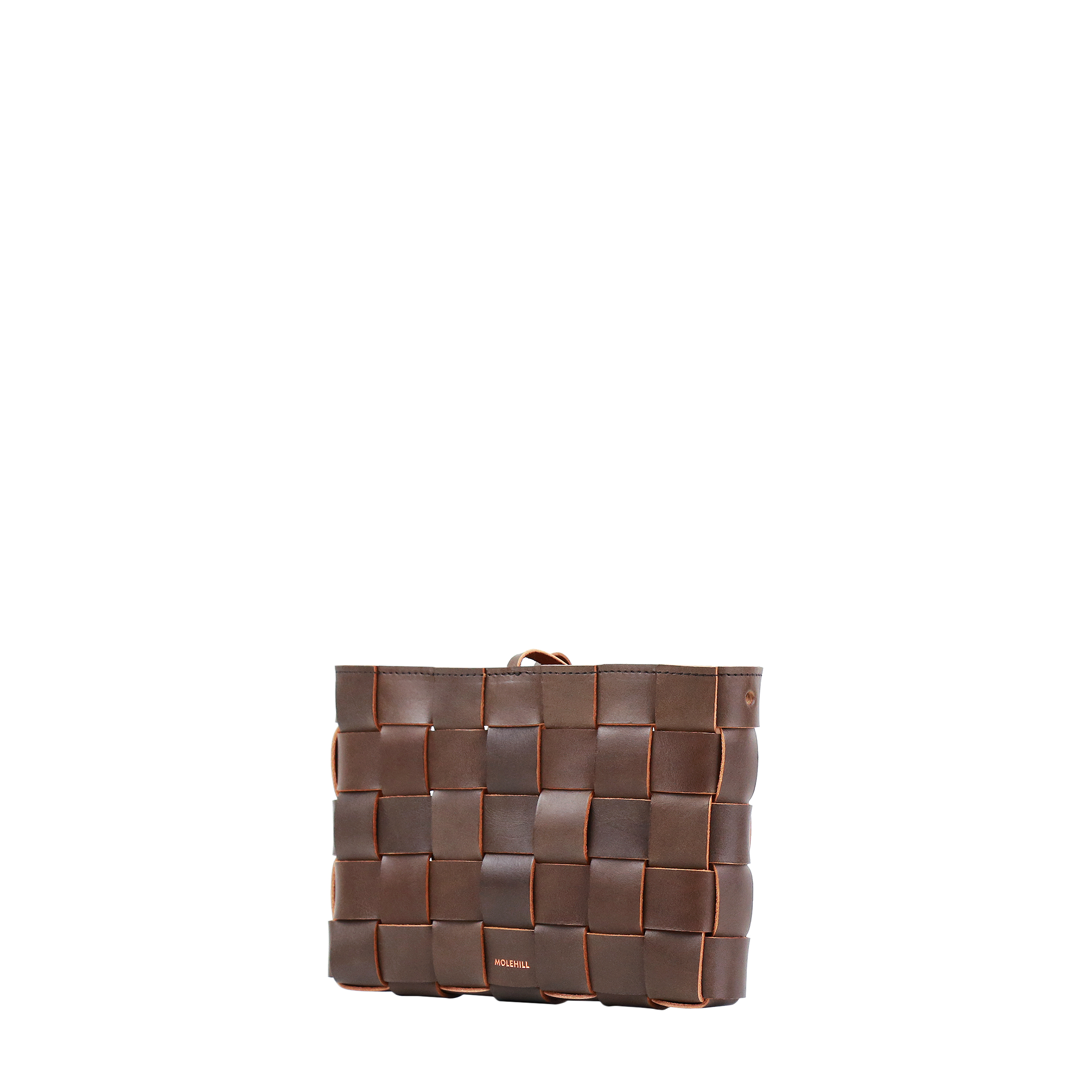 Pane Crossbody Woven Bag Light Chocolate-3
