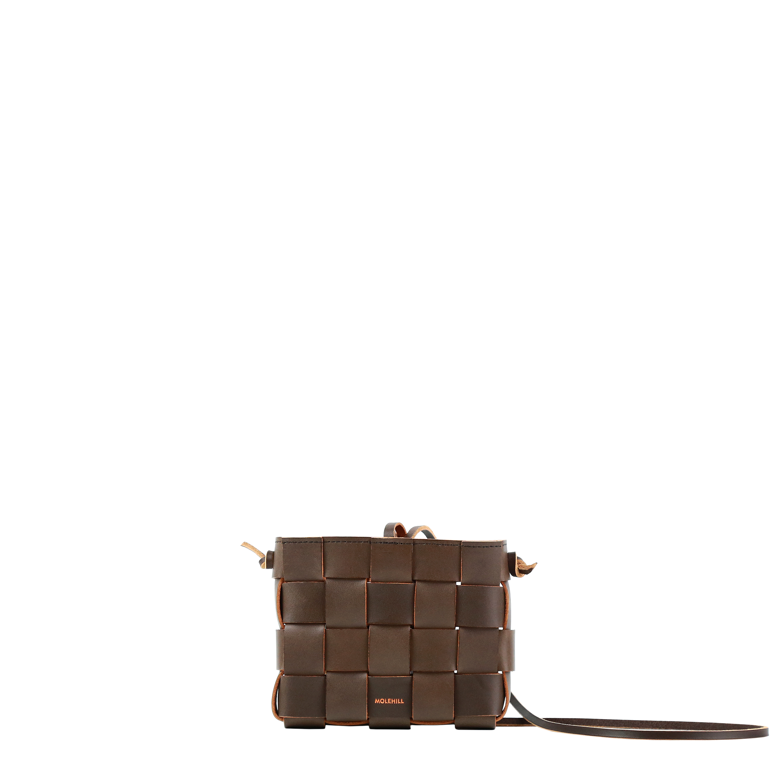 Pane Mini Crossbody Woven Bag Light Chocolate-3
