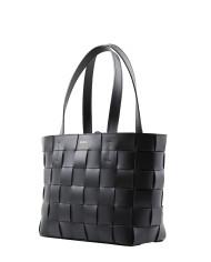 Pane Tote Woven Bag Black-2