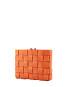 Pane Crossbody Woven Bag Orange-2