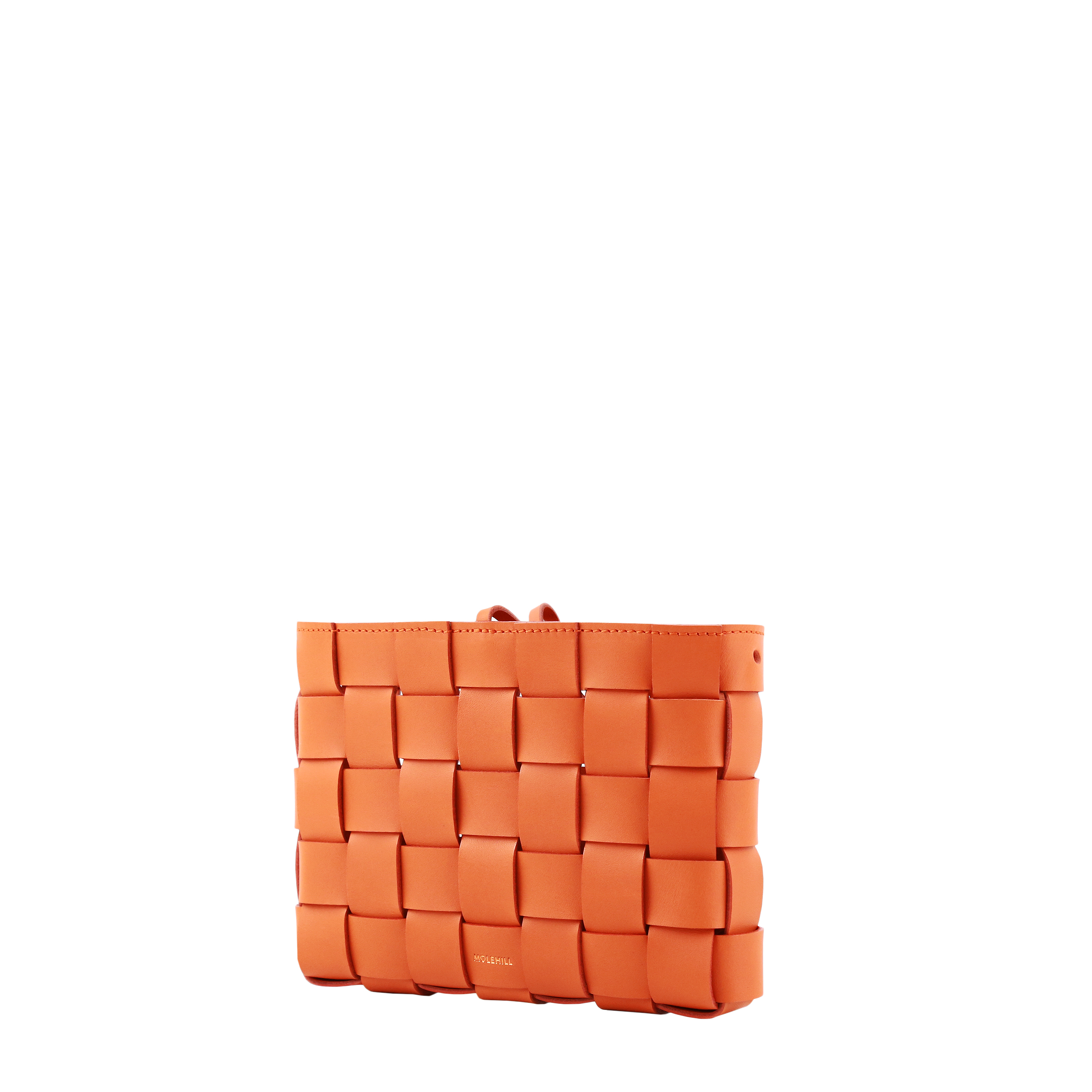 Pane Crossbody Woven Bag Orange-2