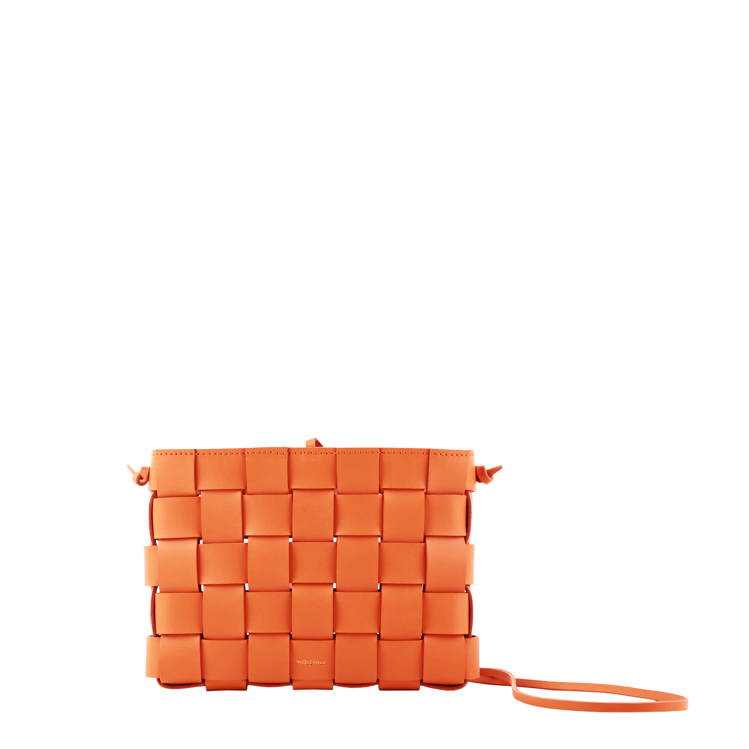 Pane Crossbody Woven Bag Orange-3