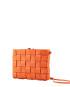 Pane Crossbody Woven Bag Orange-4