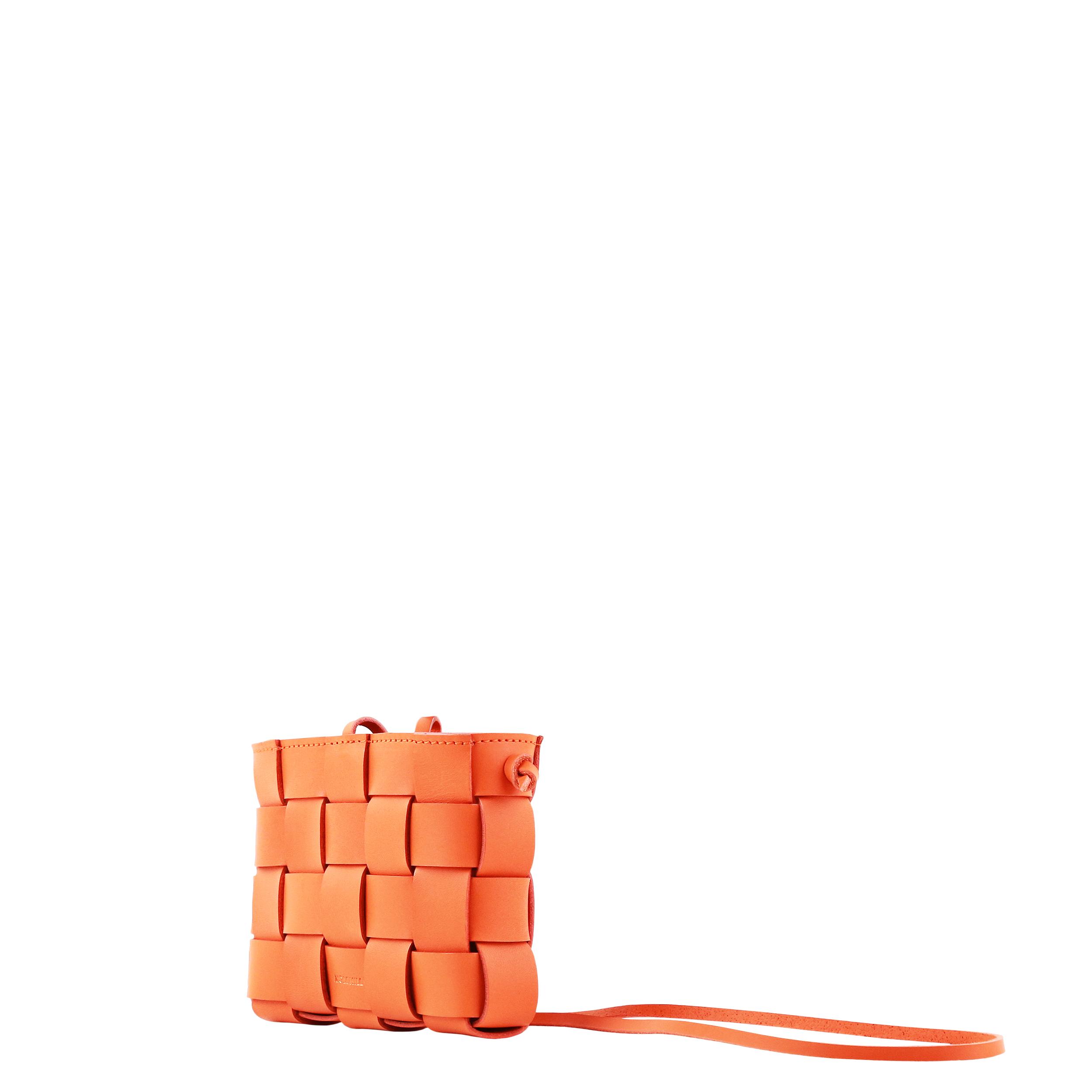 Pane Mini Crossbody Woven Bag Orange-2